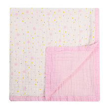 factory supplier muslin fabric bamboo blanket