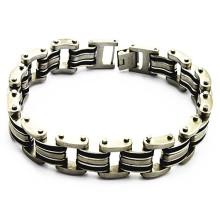 Популярные бесконечные персонализированные браслеты из нержавеющей стали для мужчин
