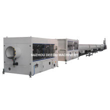 Plastic PP PE PVC PA Conduit Pipe Making Machine Line