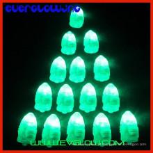 mini luz conduzida do verde para balões