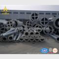 Pólos de transmissão de aço