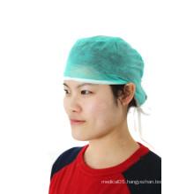 Disposable non-woven elastic doctor cap