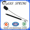 Lockable gas spring with clevis used for sofa chair