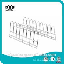 Oito grelhas de metal utensílio de cozinha rack
