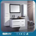 Новая краска для ванной комнаты MDF с раковиной
