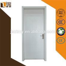 Venda superior porta de balanço de madeira maciça, porta ecológica para sala de estar