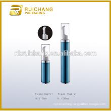 5ml/8ml/12ml/15ml eye cream airless bottle,plastic cosmetic airless pump bottle,plastic eye cream bottle