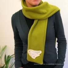 Nuevo diseño 2016 bufanda magnética moda bufanda de poliéster para las mujeres