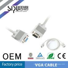 SIPU белый цвет меди материала мужской vga кабель женский vag