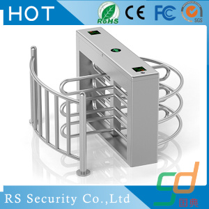 Swipe Card Gymnasium Smart Half Height Turnstile