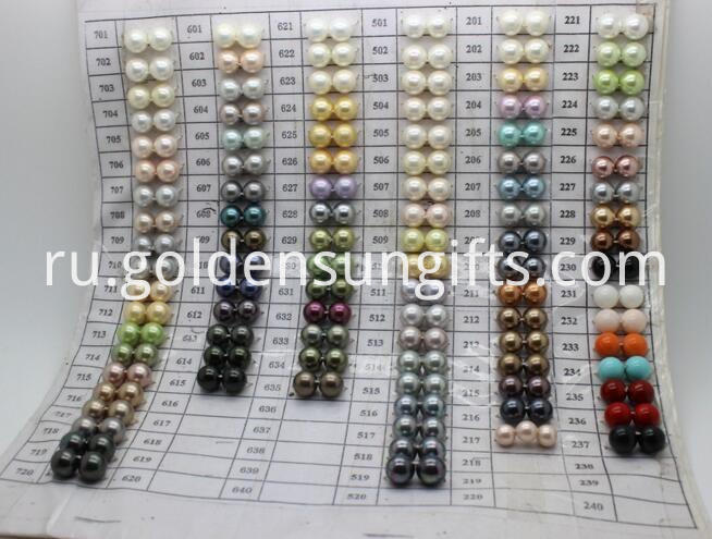 Color Shell Pearl Loose Beads