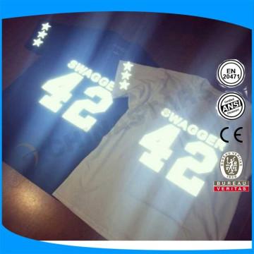 Hi viz reflective letter for clothing