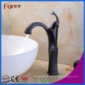 Fyeer Orb Design Lavabo grifo Grifo mezclador de agua caliente y fría con lavabo de una manija