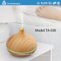 300ml Cool Mist Humidifier Ultrasonic Oil Diffuser with 7 color LED Lights