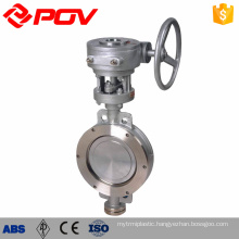 High Frequency lug high performance wafer butterfly valve with manual handle