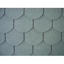 Colorful Fish Scale Shape Asphalt Shingle