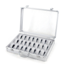 Acrylic Silver Watch Case (HX-W2947)