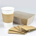Manchon de tasse de tasse de papier de support de tasse de café jetable de haute qualité personnalisé professionnel