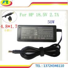 Tragbares Ladegerät 18.5V 2.7A 50W 4.8 * 1.7mm Netzteil auf Lager in China hergestellt