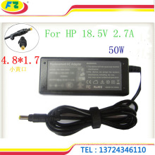 portable charger 18.5V 2.7A 50W 4.8*1.7mm power adapter in stock made in china