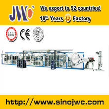 New full servo breast pad making machine with CE certificate JWC-RD-SV
