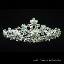 2015 Nouvelle vente en gros mariage couronne et tiaras