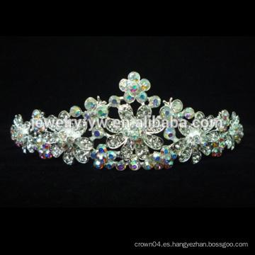 2015 Nueva Corona y Tiaras de la boda del desfile al por mayor