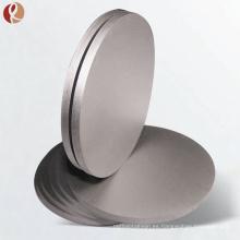 Disco de titanio puro de titanio de pulverización de titanio de venta caliente