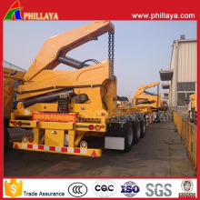 Hydraulic Self Loader Semi Trailer 20FT 40FT Container Side Lifter