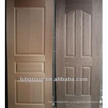 Вишня и черный орех шпон двери ХДФ кожи
