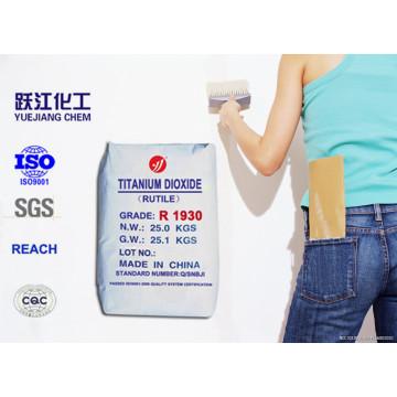 Primitivo Rutilo Titanium Dioxide R1930 Especial para Tintas