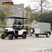 EXCAR 4 Seat electric golf cart club car golf cart trailer buggy Car