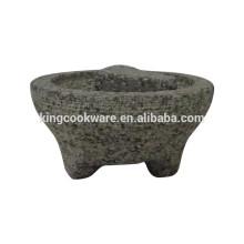 Molcajete en granit mexicain pour la fabrication de guacamole
