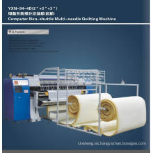 Colchón de Yuxing maquinaria Multi aguja máquina que acolcha