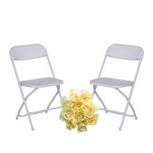 Cadeira dobrável de plástico para celebração do ensino médio