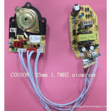 1.7MHz Atomizer PCB Driver Ultrasonic Atomizer