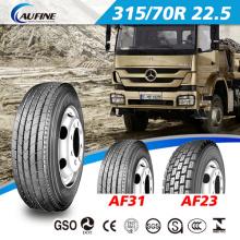 Popular tamaño neumático del carro pesado con Arriba Qualtiy