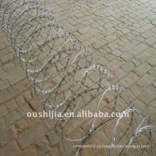 Горячая проданная сетка колючей проволоки (производство)