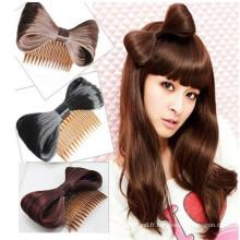 Nouveau arc mignon de cheveux Bowknot avec peigne (HEAD-108)