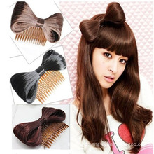 New Cute Bowknot Hair Bow with Comb (HEAD-108)