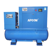 Low noise Stationary New Technology Xinlei vsd mini home 500 cfm 3kw 10bar pm rotary screw air compressor air end 7kw spare part