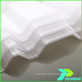 450 greenhouse hollow type polycarbonate sheet with aluminum frame