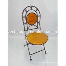 Спина спинка стул, Металлический складной стул для продажи