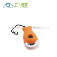 Cute Fish Shape Rechargeable Crank Dynamo Flashlight