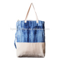 Natürliche umweltfreundliche Baumwolle Leinen Einkaufstasche