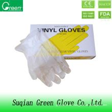 Clear Günstige Einweg-Ärztliche Untersuchung Handschuhe