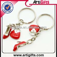 Cheap wholesale mini shoes key chain