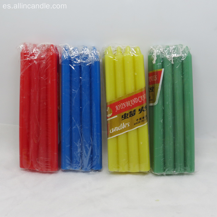 Scented Colors Stick Candle para fiesta