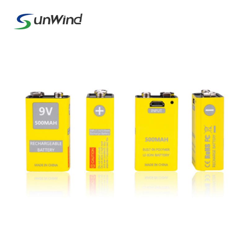 9v usb battery