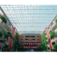Bâtiment de bureaux de treillis de toit en treillis en acier à haute hauteur